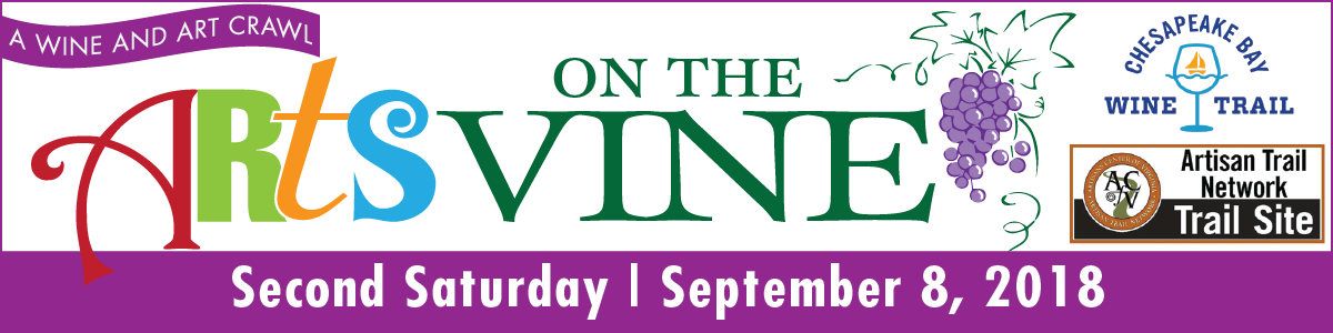 Arts on the Vine 2018 banner