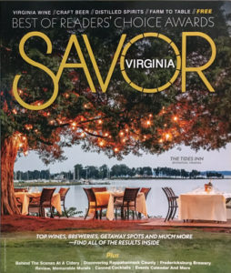 Savor Virginia Best Of 2020 issue